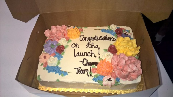 Google Chrome团队向微软Edge团队送去庆生蛋糕
