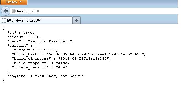 ElasticSearch 快速入门使用
