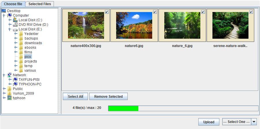 JavaUploader - 文件上传 Java Applet 应用程序。
