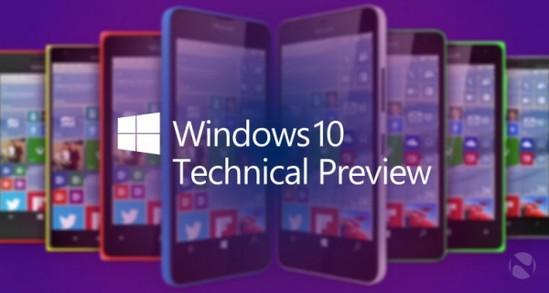 Win10手机技术预览版升级