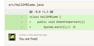 代码审查不是用来…… ( Code Review )