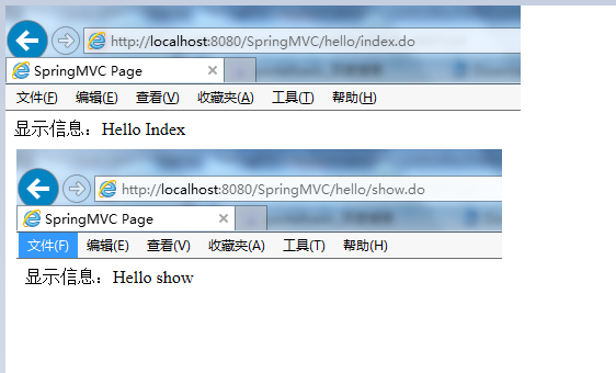基于注解Spring MVC 3.0简单示例