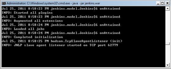 基于jenkins快速搭建持续集成服务器