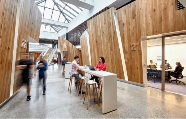 微软公布总部园区2栋办公建筑新面貌