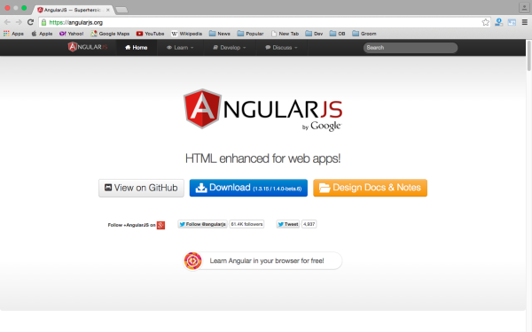 best resources and tutorials to learn AngularJS - angularjs