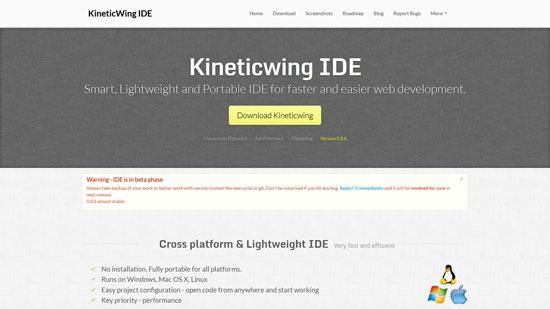 Kineticwing IDE