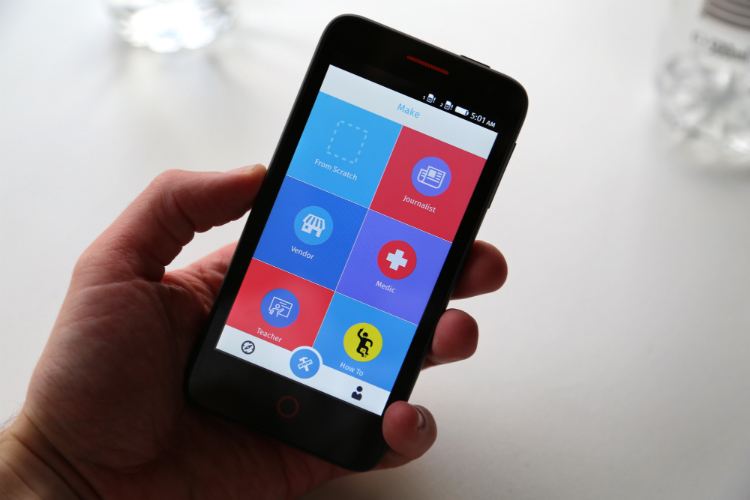 Mozilla正开发Webmaker app,在移动端也可创建web app