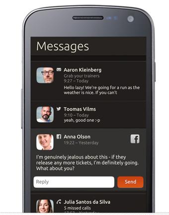 Ubuntu宣布了手机版