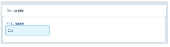 JSON驱动的iOS表单:Form