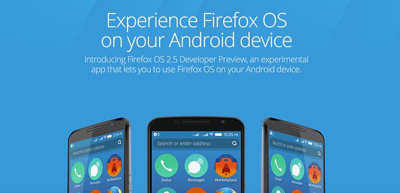 Firefox OS从一个OS降格到了APP