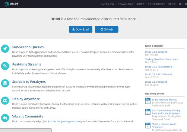 开源数据分析工具:Druid