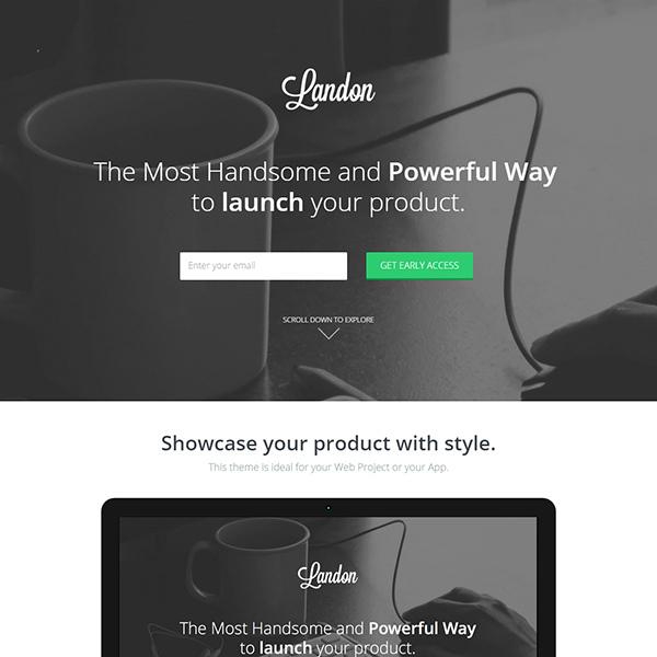 Landon – Bootstrap 3 Landing Page
