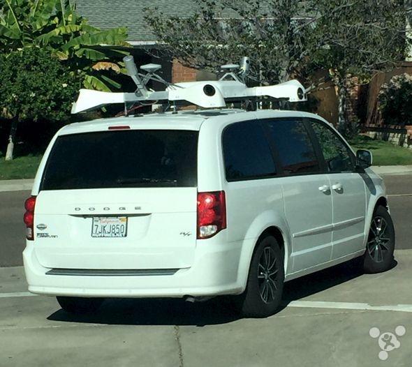 苹果街景真要来了:又一辆取景车遭到曝光