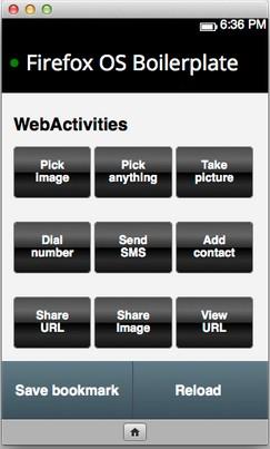 开发 Firefox OS 应用的样板工具