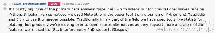 LIGO的科学家们是如何使用Python语言的?