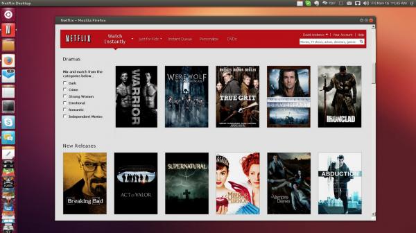 Netflix支持Linux操作系统