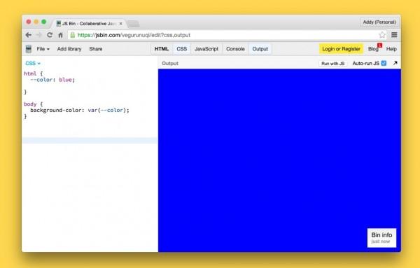 Google Chrome终于支持CSS Variables了