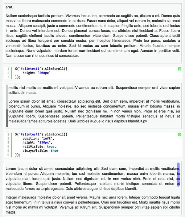 jQuery slimscroll首页、文档和下载 - jQuery 插件