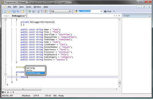 Windows文本编辑器:PN