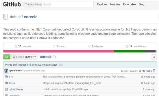 微软进一步开源 .NET CoreCLR 运行时实现