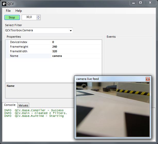计算机视觉快速开发平台 - qcv