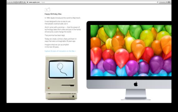 Mac 30岁快乐!