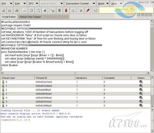 数据库性能测试工具 HammerOra