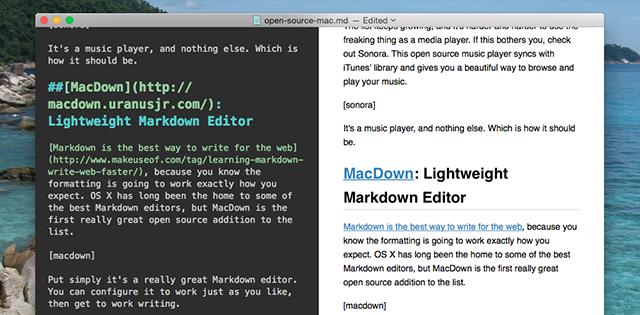 针对Mac的最好开源软件