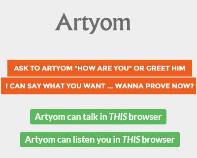 JavaScript语音识别库 Artyom.js