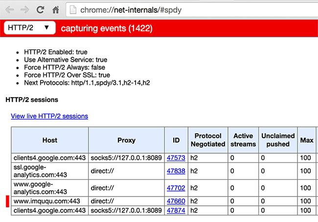 开始使用 HTTP/2