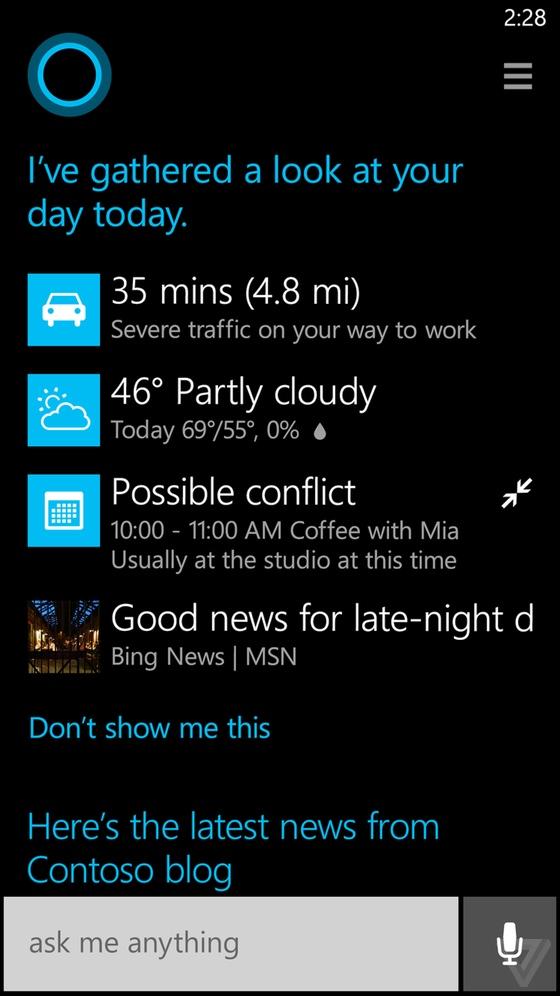 "Cortana的故事:""比尔盖茨是我爹"""