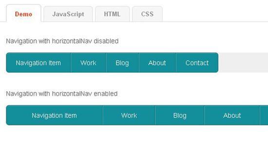 20 个实用的 jQuery HTML5 CSS3 导航菜单指南