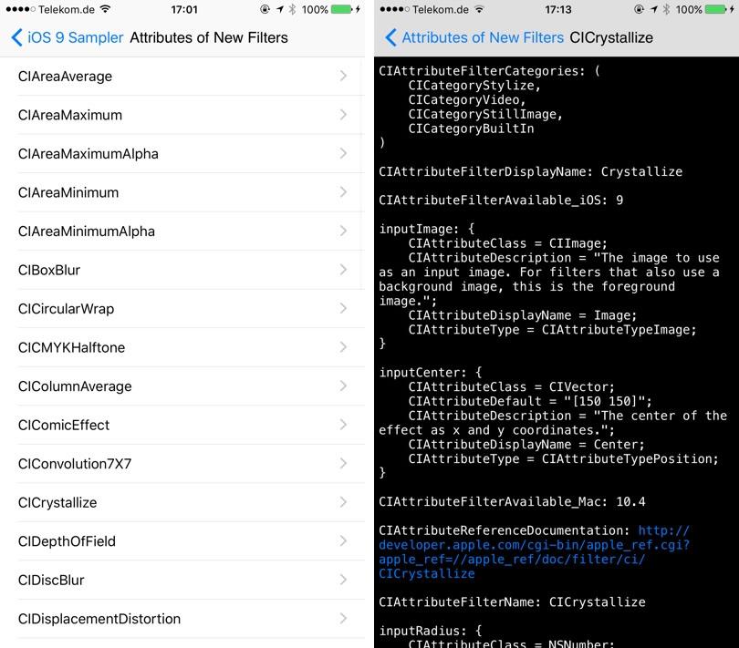 iOS 9新特性的代码示例:iOS-9-Sampler