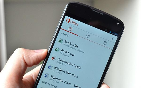微软推出 Android 版 Office