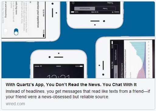 """推送新闻out了,这个新闻客户端要和读者""""聊""""新闻"""