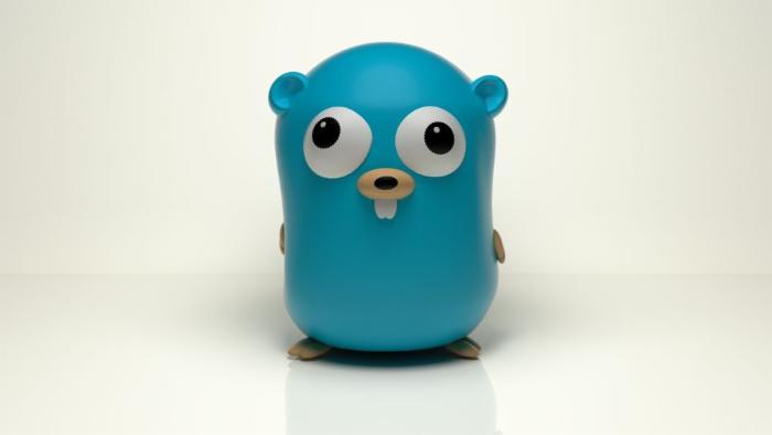 用Go语言绘制Go语言地鼠吉祥物