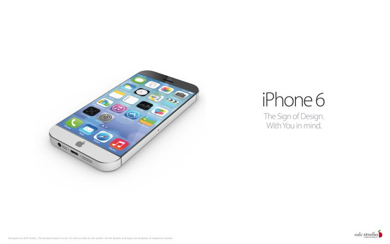 与 iOS7 很搭配 完美 iPhone6 概念机曝光