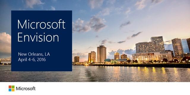 微软宣布Build 2016门票开售时间 及Microsoft Envision