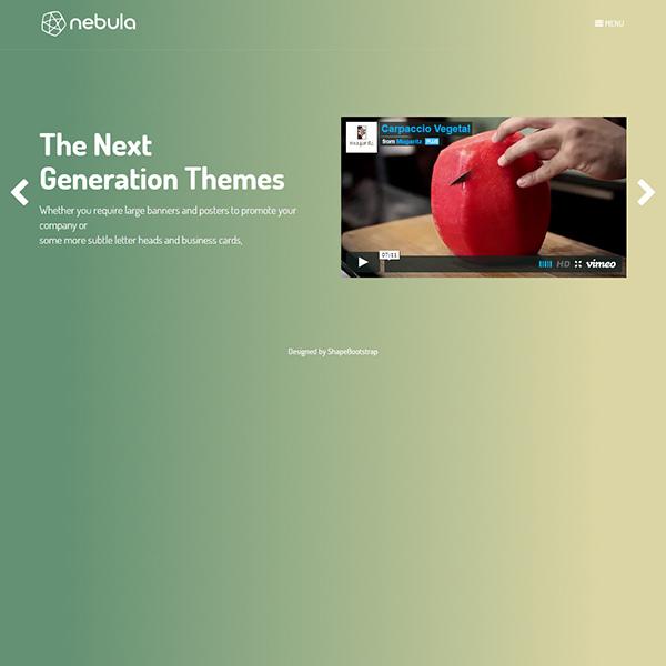 Nebula – Creative HTML Template