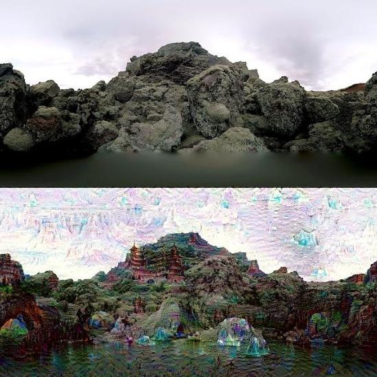 Google深度学习要抢Photoshop的饭碗,看看DeepDream的风格转换算法