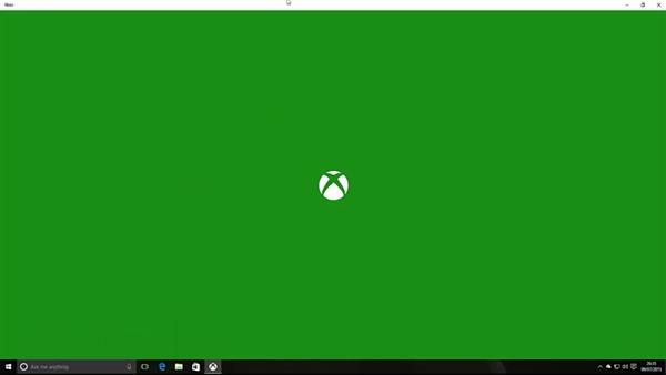 Windows 10串流Xbox One游戏演示