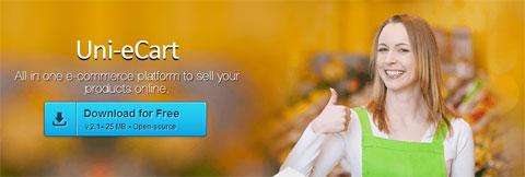 一套完整并且开源的电子商务应用:Uni-eCart
