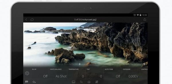 Adobe公司宣布Android版Lightroom免费