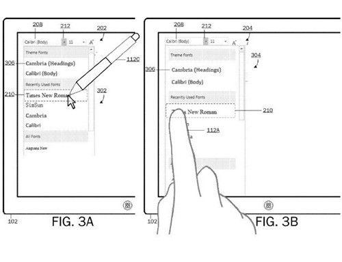 微软新专利曝光:用户界面可随输入变化而切换